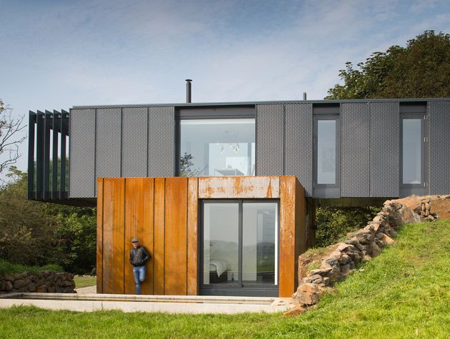 The shipping container Grand Designs house is one of Kevin McCloud's favourite TV houses