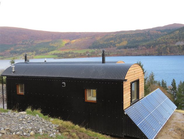 energy efficient house in north west scotland