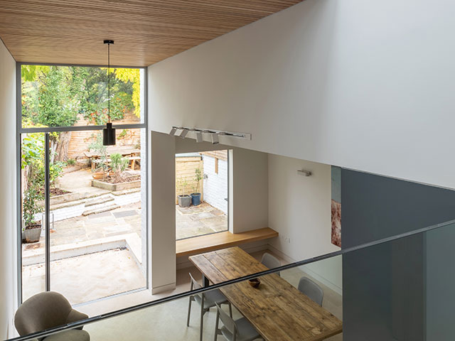 Proctor and Shaw Architects create double height home extension - grand designs