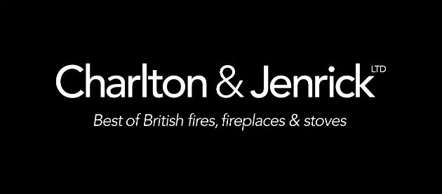 logo for Charlton and Jenrick best of British fires fireplaces and stoves
