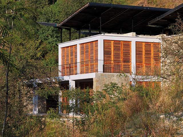 The Flying House designed by Martand Khosla of Romi Khosla Design Studios