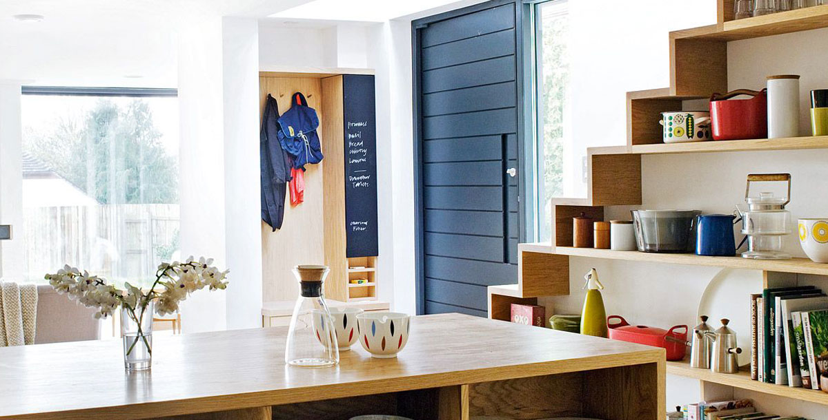 Create more storage space in your home. Photo: Kathryn Tyler (linea-studio.co.uk)