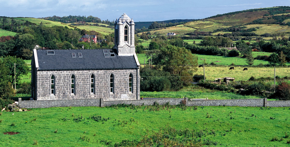 The Grand Designs Gothic chapel in County Mayo