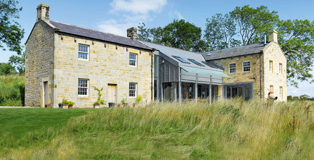 The Grand Designs converted mill in Northumberland