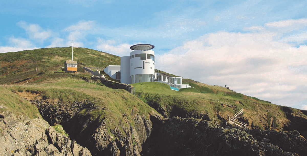 The Grand Designs Lighthouse home in north Devon is nearly finished and going up for sale