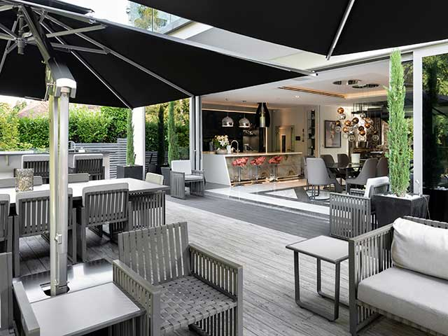Luxury homes for sale in Buckinghamshire - The White house is built for entertaining with an open-plan drawing room, bar and large terrace