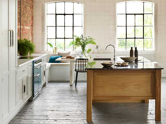 leave at least one metre around your kitchen island so you have space to open doors and move around